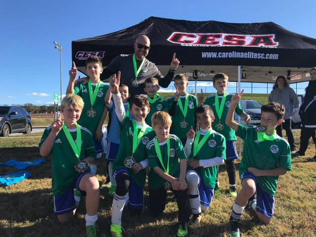 Champions - ESC U08 Boys - CESA Fall Challenge 2017 Tournament November 18-19, 2017