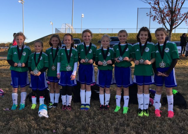 Finalists - ESC U08 Girls - CESA Fall Challenge 2017 Tournament November 18-19, 2017