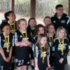 ESC U10 Girls co-champions 2014 St. Patrick's Day Tournament
